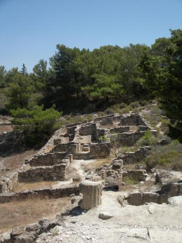 Ancient kamiros and nature, part of our private tours