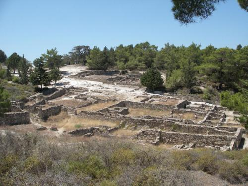 Ancient Kamiros ruins, part of our private tours