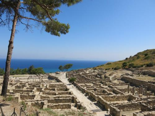 Ancient Kamiros panorama, part of our private tours