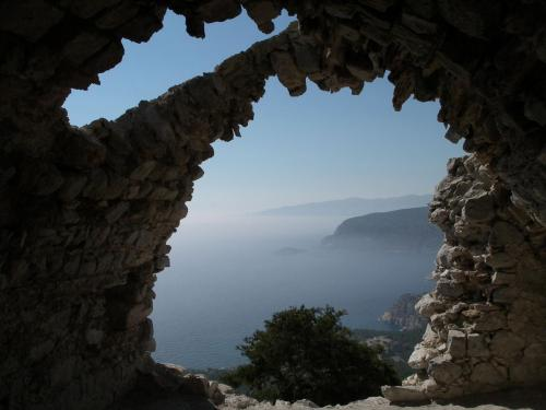 Monolithos fortress in Rhodes island