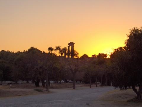 Rhodes acropolis nature, part of city tour