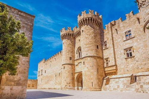 Grand Master Palace in the medieval town of Rhodes, part of city tour